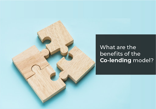 What are the benefits of the Co-lending model?
