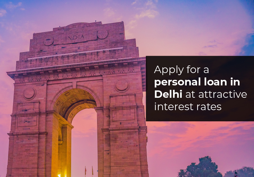 Apply for a personal loan in Delhi at attractive interest rates